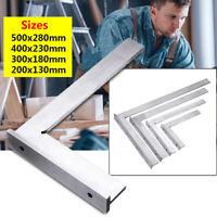90° Schlosserwinkel Anschlagwinkel Winkelmesser DIN875 Werkzeug Rostfreier Stahl