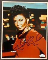 Nichelle Nichols Signed Photo JSA COA 8x10 Autograph Star Trek Uhura