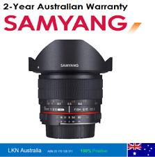 Samyang 8mm F3.5 UMC II Fisheye Manual Focus Lens