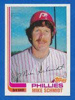 1982 Topps Set Break #100 Mike Schmidt Philadelphia Phillies HOF NM-MT+