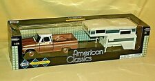 CHEVY TRUCK 1966 MOTOR MAX AMERICAN CLASSICS POP UP CAMPER TRAILER BROWN NEW.
