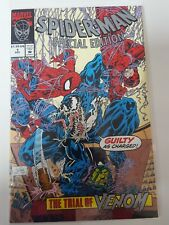 Spiderman special edition venom Comic 1 nm bagged boarded