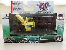 M2 MACHINES - AUTO-TRUCKS - 1956 FORD F-100 STAKE BED TRUCK - 1/64 DIECAST