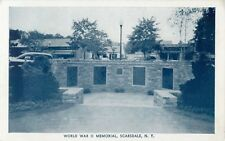 A View Of The World War II Memorial, Scarsdale, New York NY