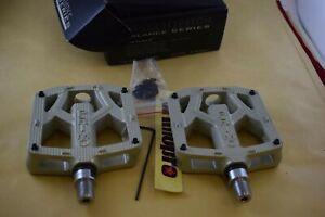 PRIMO PRO BALANCE MAGNESIUM Pedal set 9/16 sealed mid school bmx gray NIB NOS