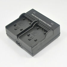 Dual Battery Charger for Panasonic VW-VBT190 VW-BC10E HC-W850 WX979 WX90 WX970