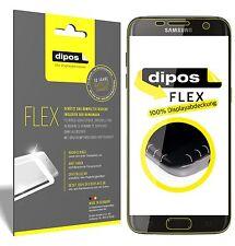3x Samsung Galaxy S7 Edge Schutzfolie, 100% Displayabdeckung, dipos Flex Folie
