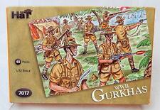 HAT Airfix Reissue Plastic 1/72 Scale WWII Gurkhas Soldiers Set 7017 NEW OOP!