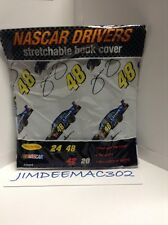 Nascar Drivers Jimmy Johnson Stretchable book cover -BNIP