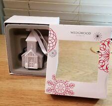 Figural Grey Church Holiday Ornament by Wedgwood
