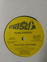 "Pure Energy-You've Got The Power 12"" Vinyl Single 1981 Promo Copy"