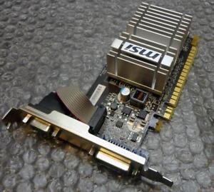 MSI N8400-D512H 602-V206-100 512MB DDR2 Graphics Card VGA/DVI