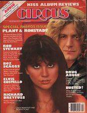Circus Music Magazine February 16 1978 Rod Stewart EX 112315DBE