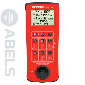 BENNING ST 725 Gerätetester 050316 *NEU*