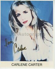 Carlene Carter - Country Music Singer - Signed 8x10 Photograph
