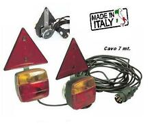 Magnetic Trailer Lights complete with Triangle Reflectors set 7 meters cable .