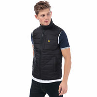 Mens Lyle And Scott Hudson Gilet In Black