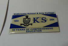 Kidbrooke School & Arts College 1954-2004 50 years of Comprehensive Education