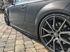 For Audi TT RS, TTS, 8J Coupe   Side skirts Blades / Sill covers / extensions