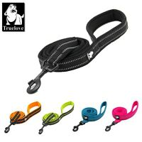 Dog Leash with Lightweight Metal Hook, Reflective Pet Leash, Padded Doggy Lead