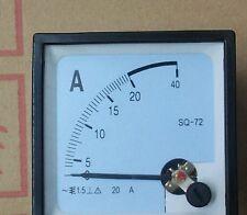 Analog AMP Panel Meter + Current trensformer AC 20A