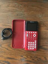 Texas Instruments Ti-84 Plus CE 3MB ROM Graphing Calculator - Radical Red