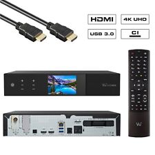 VU+ Plus Duo 4K SE 1x DVB-T2 Dual Tuner Linux UHD 2160p WiFi PVR Ready Receiver