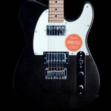 Fender Squier Contemporary Telecaster w/ Maple Neck - HH (Black Metallic)