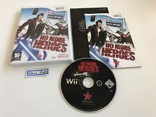 No More Heroes - Nintendo Wii - PAL FR - Avec Notice