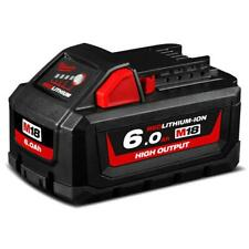 GENUINE Milwaukee M18HB6 18V 6.0Ah Li-ion Cordless High Output Battery AU STOCK