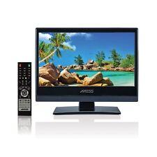 "AXESS 13.3"" HD LED TV TELEVISION 12V 12 VOLT CAR CORD RV TRUCK BOAT AC/DC USB"