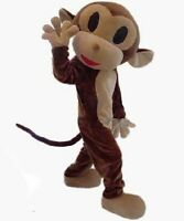 Halloween Lovely Monkey Mascot Costume Cosplay Birthday Party Fancy Dress Adult