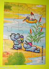 Ü-EI PUZZLE ### HAPPY HIPPOS 1988 ### OBEN RECHTS 100% ORIGINAL=TOP!!!
