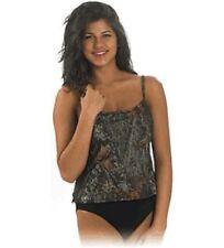 Mossy Oak Swimsuit Womens 1 PC Slimming Camo Tankini Swimsuit Medium