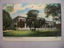 VINTAGE POSTCARD OF THE STATE CAPITOL IN COLUMBUS, OHIO