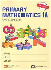 Singapore Primary Math Workbook/Textbook (1 book) 1A1B 2A2B 3A3B 4A4B 5A5B 6A6B