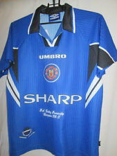 Manchester United 1996-1997 Champions Third Football Shirt 12/13 years /20381