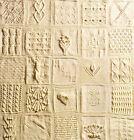 Sampler  Afghan ~ 25 Different Squares 48