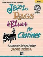 Jazz, Rags & Blues for Clarinet: Book & CD by Alfred Publishing (Paperback,...