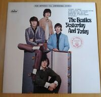 The Beatles YESTERDAY AND TODAY Vinyl (LP, Reissue, Stereo, Red Label) 1976