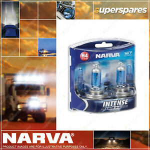 Narva H4 Performance Globes 12V 60/55W Intense Plus 30 P43T 1F H4 48472Bl2