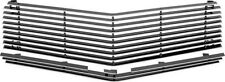 1974 - 77 CAMARO / Z28 BILLET GRILL SET - POLISHED ALUMINUM FACE w/ BLACK INNER