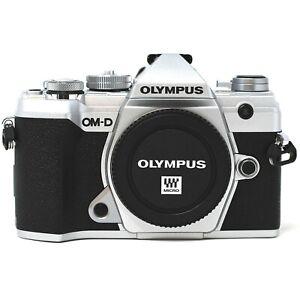 Olympus OM-D E-M5 Mark III Mirrorless Camera Silver - UK NEXT DAY DEL