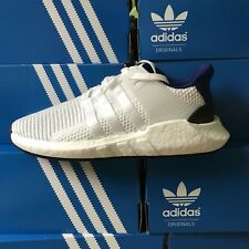 Adidas EQT Support 93/17 Boost Size 8 Royal Blue White Running Shoes BZ0592