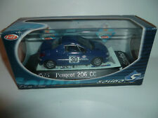 PEUGEOT 206 CC COUPE 206 CC N°30 : SOLIDO ¤ NEUF
