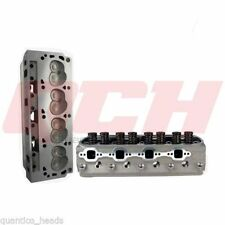 SBF Small Block Ford 289 302 351W 185cc 60cc Assembled Cylinder Head - set of 2