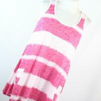 George Red Striped Womens Vest Top Size 12