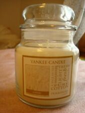 YANKEE CANDLE  COTTON  JAR  CANDLE  14.5OZ   ~NEW~