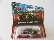 Disney Pixar Cars 2 NITROADE NO 28 SYNTHETIC RUBBER TIRES KMART Hot CB-O-GE