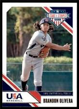 2020 Stars & Stripes Base #62 Brandon Olivera